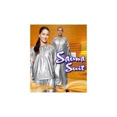 Baju Sauna Suit: Jaket Pembakar Lemak Import Buat Lari Dan Diet Murah