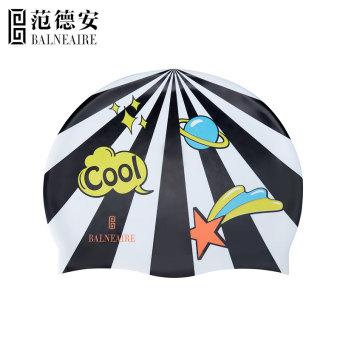 HARGA Balneaire pelindung telinga tahan air dengan rambut panjang topi renang renang topi silikon berenang topi renang topi TERLARIS