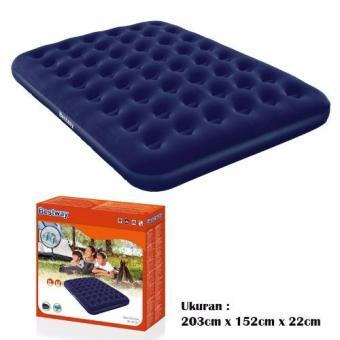 Bestway 67003 Kasur Angin Queen Biru [203cm x 152cm] / Air Bed Queen Blue