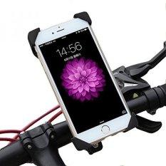 Bike Mount, EMIUP Universal Cell Phone Bicycle Handlebar & Motor Cradle dengan 360 Putar untuk IPhone 6 S 6 5 S 5c 5, samsung GALAXY S5 S4 S3, Google Nexus 5 4 dan Perangkat GPS Hingga 3.7in Lebar-Intl