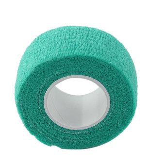 BolehDeals 2,5 cm pertolongan pertama medis perawatan kaki perbanperekat diri Gauze Tape hijau (International) - International