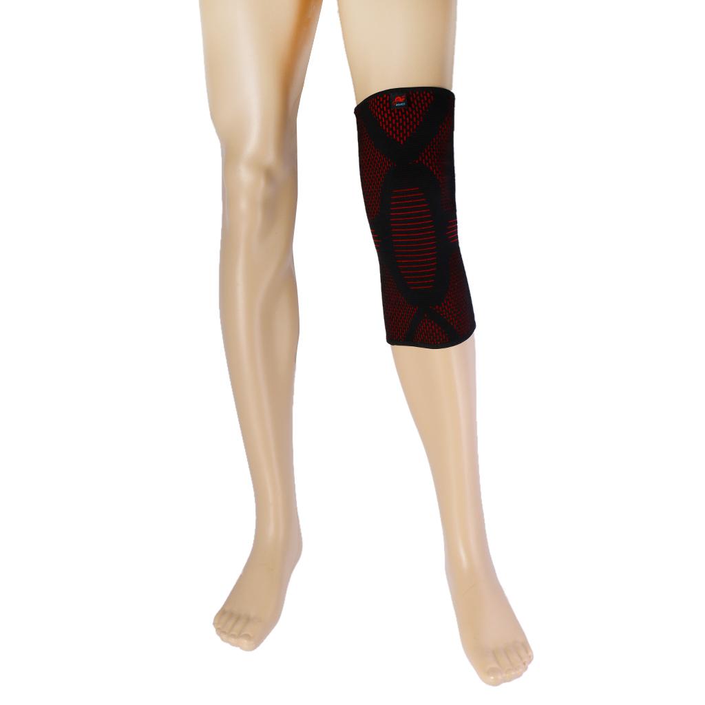BolehDeals Perkuat Dukungan Kompresi Lutut Patela Tertutup LenganBaju Olahraga Perlengkapan Pelindung