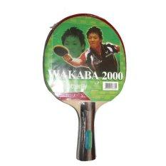 Butterfly Bat Tenis Meja Wakaba 2000 - Merah/Hitam