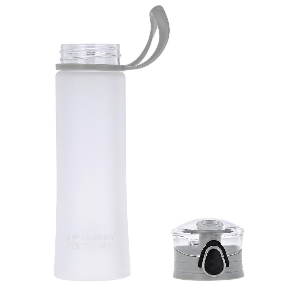 Cargen MC013 450 Ml Warna Candy Portabel Outdoor Olahraga Air Minum Botol Plastik