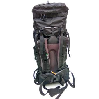 CONSINA TAREBBI 60 L (Full Hitam) Backpack/Ransel/Tas Gunung/Carier - 3