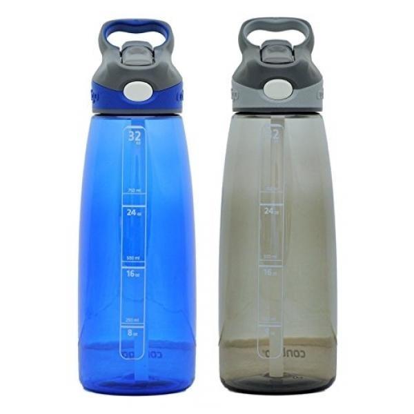 Contigo Autospout Addison Water Bottle, 32oz - Monaco & Smoke -intl