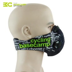 Cycling Bike Dustproof Mask Activated Carbon Filtration Half FaceMask Anti Dust - intl