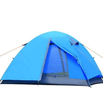 Double Layer Outdoor Camping Tent - intl