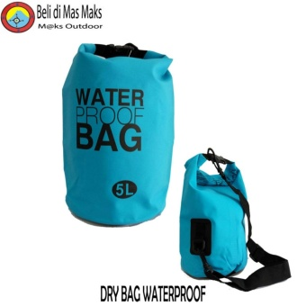 Dry Bag Waterproof Tas Anti Air 5 Liter Pengaman Gadget