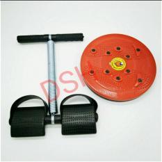 DSH Paket Alat Olahraga Situp Fitnes / Senam,Aerobik,Jogging,Yoga Gym 2 Alat