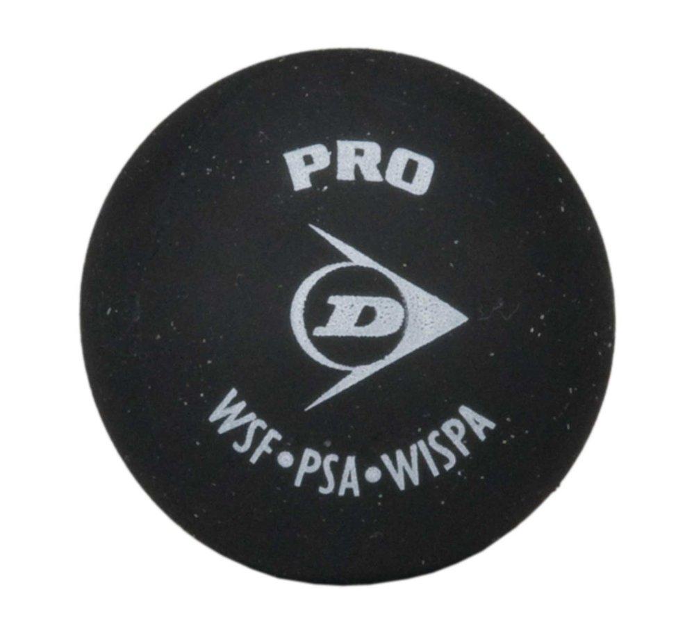dunlop squash ball pro black