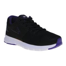 Eagle Hybrid Sepatu Lari - Black Purple