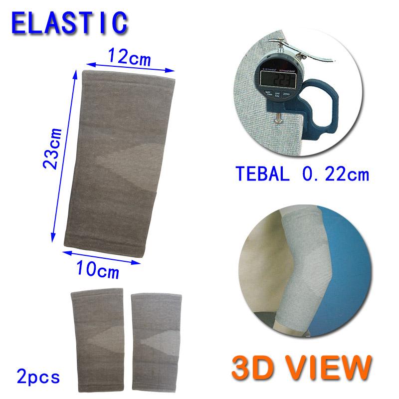 EELIC Elbow Support Terbuat Dari Serat Bamboo Untuk Segala MacamAktifitas Olahraga Seperti Basket, Futsal, Volly, Badminton, Hiking0990 Sangat Elastis