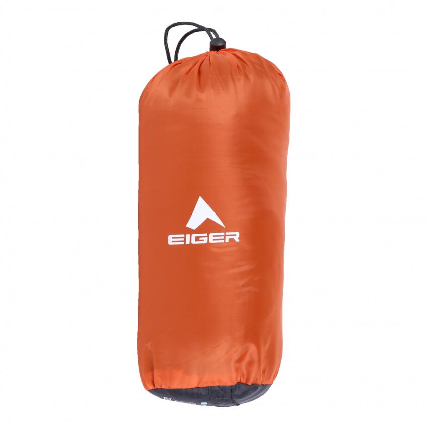 Eiger Sleeping Bag Explore Mummy Orange