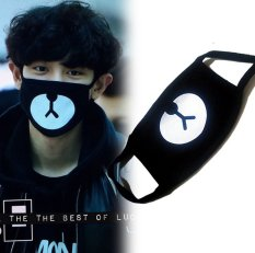... Monster Lucky One Growl XOXO WOLF Kpop AnimationAntidust Cotton Mouth-muffle Masques Face Mask (Black) - intl. RP 40.050. RP 64.970. -38%. EXO Tahan ...