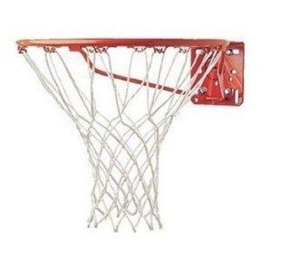 Five Star Store 4 mm pengganti nilon Tahan Lama 12 putaran bola basket papan jala jala
