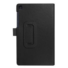 Flip Floding Leather Case Stand Cover for LenovoTab3 7 Essential(710F)BK - intl