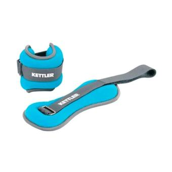 Harga baru Foot Bands 1kg / PAIR Kettler / Pemberat Kaki 1kg Kettler (BLUE) Cari Bandingkan