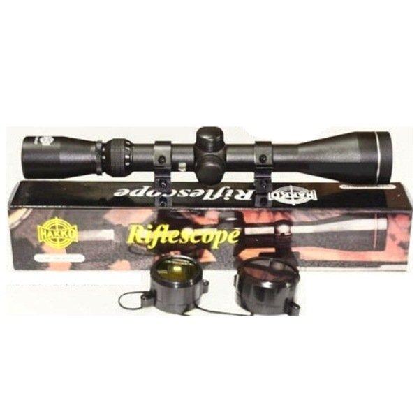 Halona - Teropong Senapan Angin Riflescope 3-9x40E Sniper ForHunting, Berburu Airsoft Gun High Quality - Hitam
