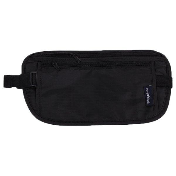 HengSong Waist Bag Storage Bag Travelling Bag Black