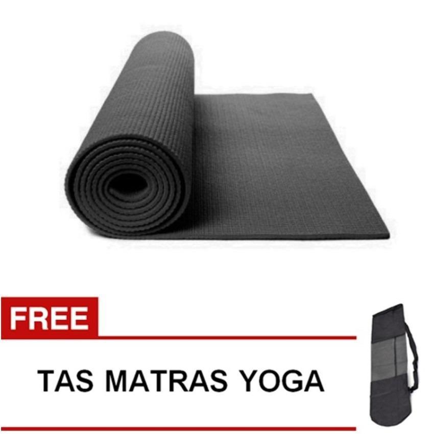 Homedepot Matras Yoga Mat 6MM A383 Hijau (FREE TAS)