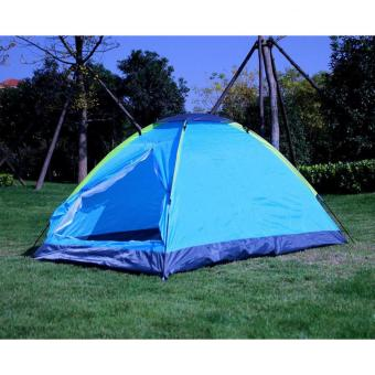 Harga Outdoor Double Layer Door Camping Tent / Tenda Camping
