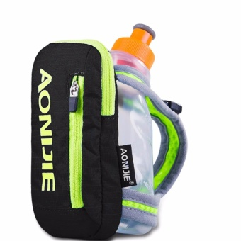 Harga Aonijie Handheld Hydrate 8.82 Ounces Fastdraw Quickshot Bottles, Pocket Iphone 6 Black - intl