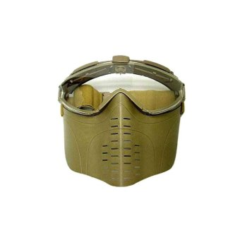 Harga Battleaxe PRO-Goggle Full Face Mask with Fan Tan