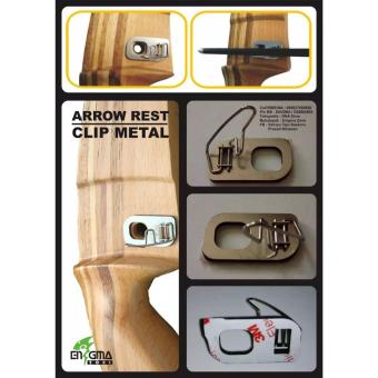 Harga Arrow Rest Clip Metal, Panah, Panahan, Archery, EnigmaZone