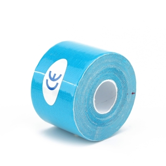 5m x 5cm Kinesiology Muscles Sports Care Elastic Physio Therapeutic Tape Blue