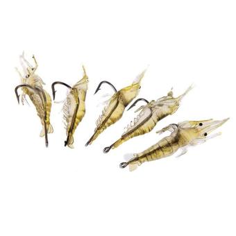 Penangkapan ikan kait 5 buah/set penangkapan ikan umpan dengan kait yang tajam jelas buatan