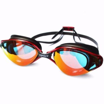 Harga Kacamata Renang Anti Fog UV Protection GOG-3550 - Merah
