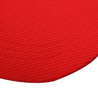 ... Menarik Olahraga Luar Ruangan Perpaduan Katun Kasual Dengan Topi Helm Topi Baseball Merah - 5