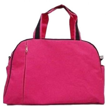 Harga HS Sport Bag - Dark Pink/Black