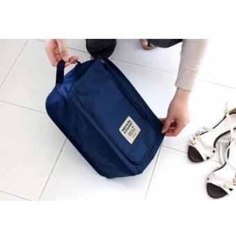 Monopoly Shoes Pouch Traveler / Tas Sepatu Olahraga Wisata Besar -GN61 -