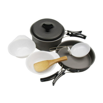 Harga DSC Cooking Set DS 200 Camping Hiking-Out Door - Hitam