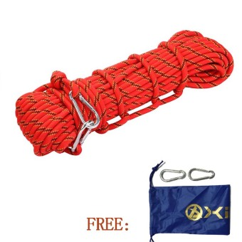 Harga 10M Rock Climbing Rope(red)