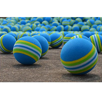 50 buah spons busa bola golf dalam praktek Traning elastis 2 .