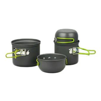 Harga DSC Cooking Set DS 201 Camping Hiking-Out Door - Hitam