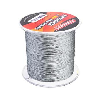 Harga MagiDeal Super Strong 300M 0.5mm 80LB PE Braided Lines Sea Fishing Line Grey - intl