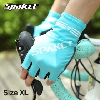 Spakct Men Women Nature Series Cycling Gloves 4 Colors Breathable Soft High Elastic Half Finger MTB