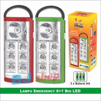 Harga LAMPU EMERGENCY MINI MS-6116