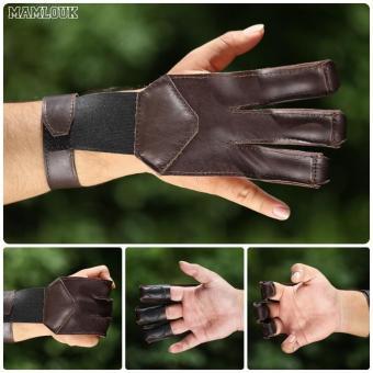 Finger Gloves - Pelindung Jari Panahan - Soqyun Abyadh