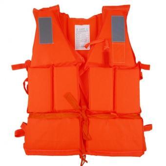 Nak untuk ukuran dewasa hidup rompi pelampung dengan peluit untuk bertahan hidup untuk olahraga air melayang