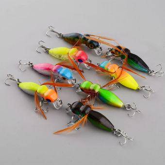 Pancing Buatan Pensil Plastik Source · 8 buah jangkrik umpan penangkapan ikan umpan .