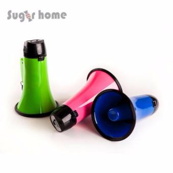 Harga Portable Megaphone 20 Watt Power Megaphone Speaker Bullhorn Voice And Siren/Alarm Modes With Volume Control And Strap - intl