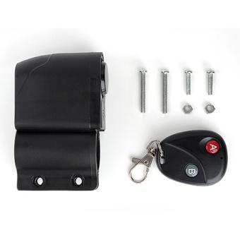 Detail Gambar Moonar Sepeda Wireless Remote Mengendalikan Anti Pencurian Alarm Sensor Getaran Kejut .