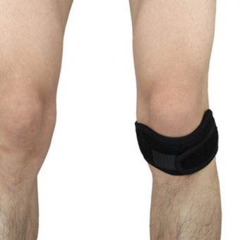 Adjustable Magnetic Sport Knee Protect Strap Patella Tendon Brace Support Wrap - intl .