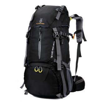 Harga Outdoor Hiking Backpack (Black) - Intl