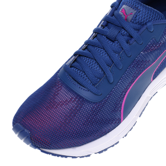 Puma Engine Women's Running Shoes - True Blue-Ultra Magenta .